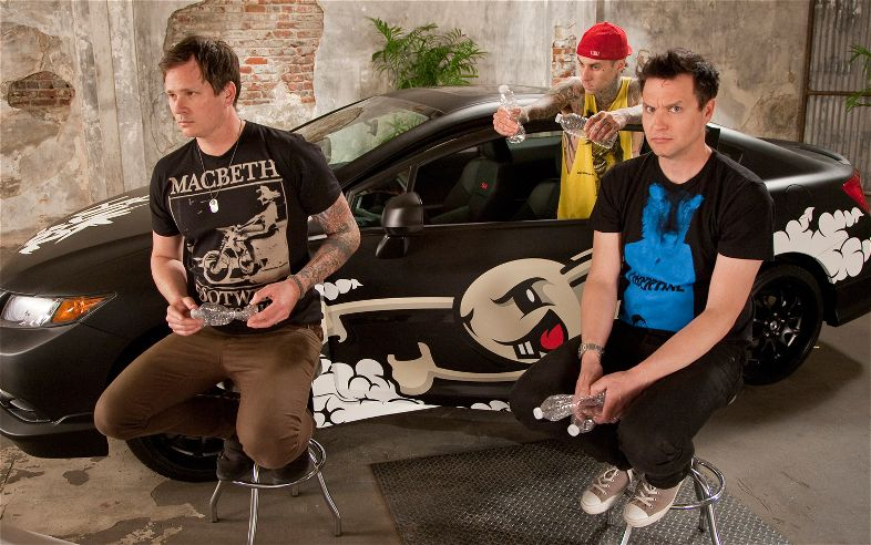 Фотосессия Blink-182 Honda Civic Tour