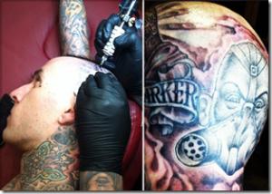 Трэвис Баркер сделал новую татуировку