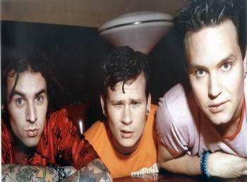 Старенькая фотосессия Blink-182